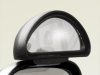 Convenient Side Mirror HERCULES small 146 x 60 mm - Bracket-Mounted