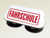 "Aero-Tech Magnetic Roof Sign ""FAHRSCHULE"", reflective"