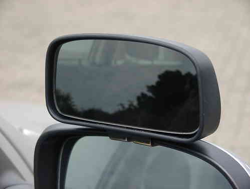 Convenient Side Mirror CROSS large 150 x 90 mm - Bracket-Mounted
